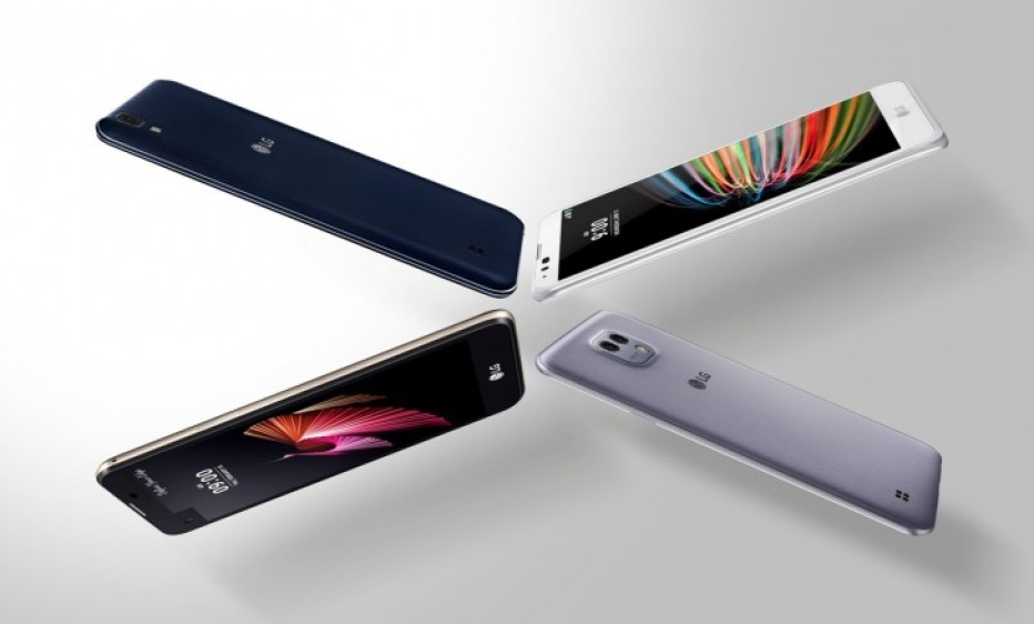 LG presents several X smartphones
