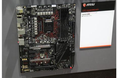 MSI showcases Intel Z270-based motherboard