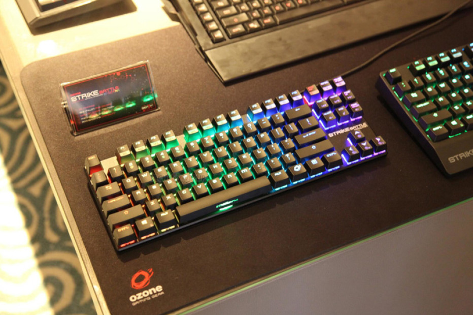 Ozone Strike Battle Spectra is LED-enabled small keyboard