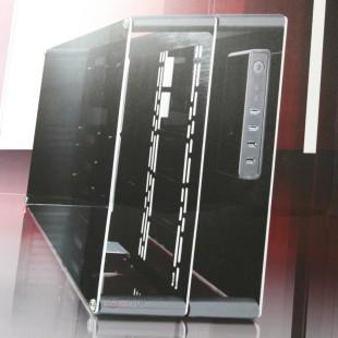 Raijintek demonstrates Paean PC case