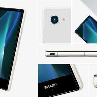 Sharp shows new Aquos smartphone