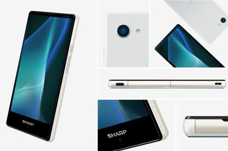 Sharp shows new Aquos smartphone