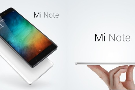 Xiaomi plans three versions of the Mi Note 2 smartphone