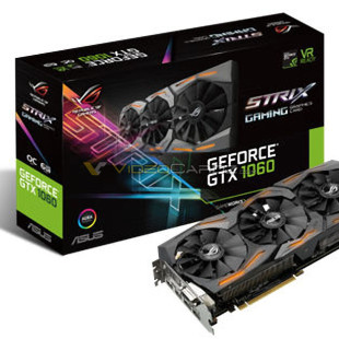 ASUS prepares Strix GTX 1060 video card