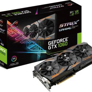 ASUS announces the Strix GeForce GTX 1060