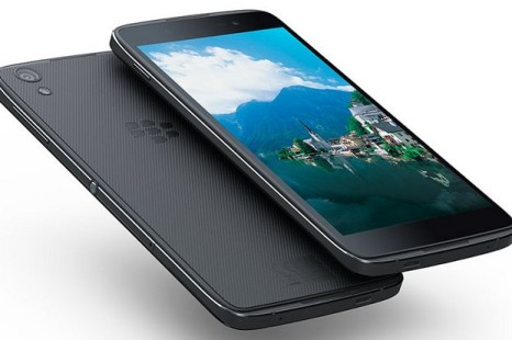 BlackBerry presents the DTEK50 smartphone