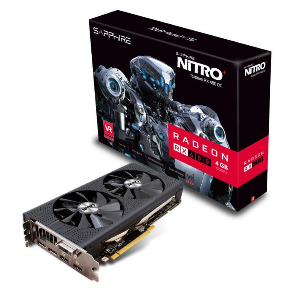 Sapphire reveals the Radeon RX 480 NITRO+ video card