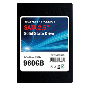 Super Talent shows Nova solid-state drives