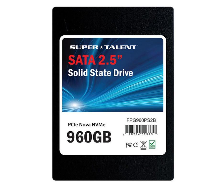 Super Talent shows Nova solid-state drives