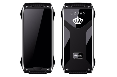 VKWorld Crown V8 will come with self-healing chassis