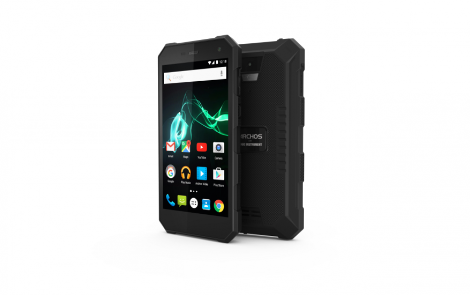 Archos designs the 50 Saphir rugged smartphone