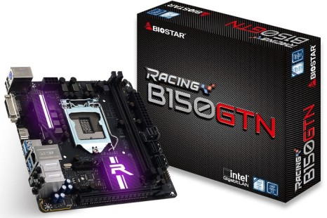 Biostar presents the Racing B150 GTN motherboard