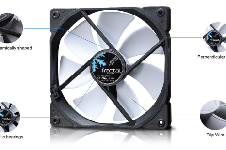 Fractal Design boasts Dynamic X2 cooling fans