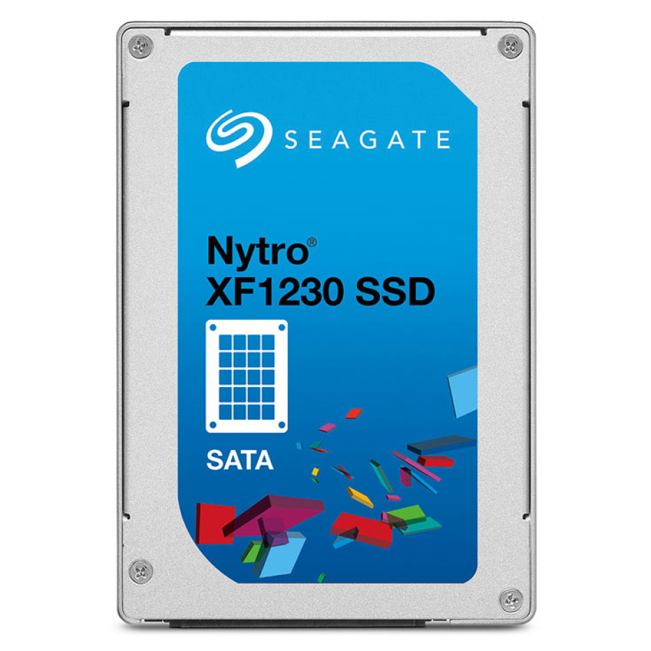 Seagate presents the Nytro XF1230 solid-state drives