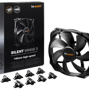 Be Quiet! Reveals SilentWings 3 case fans