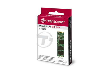 Transcend debuts the MTS820 solid-state drive line