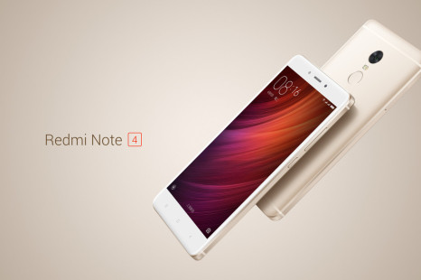 Xiaomi presents the Redmi Note 4 smartphone