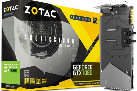 ZOTAC unveils the GeForce GTX 1080 Arctic Storm