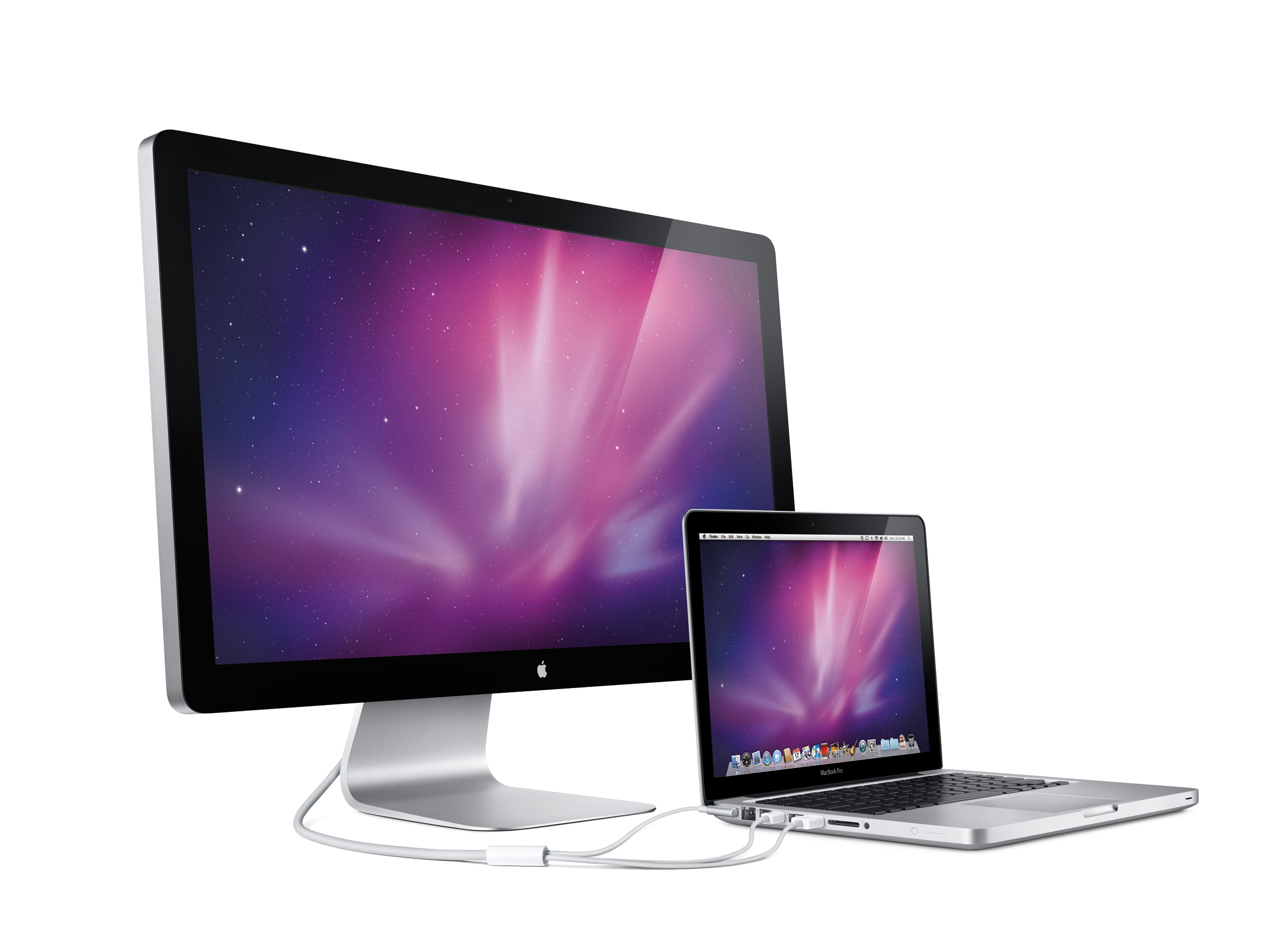 Apple reveals 27-inch LED Cinema Display
