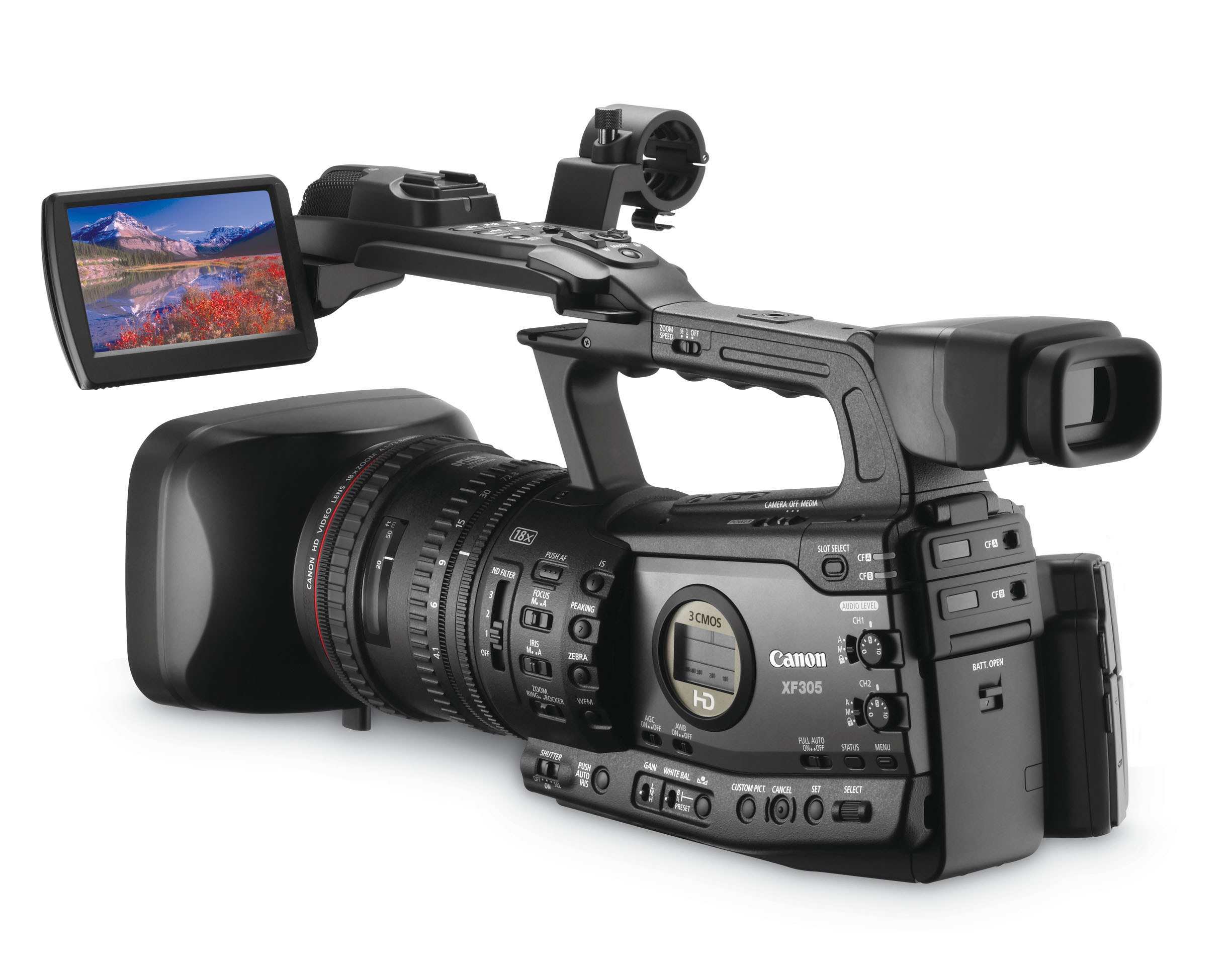 canon xf305 and xf300 professional hd camcorders. Black Bedroom Furniture Sets. Home Design Ideas