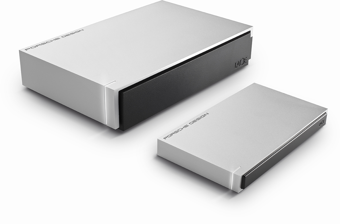 lacie and porsche design intros luxury line of hard drives. Black Bedroom Furniture Sets. Home Design Ideas