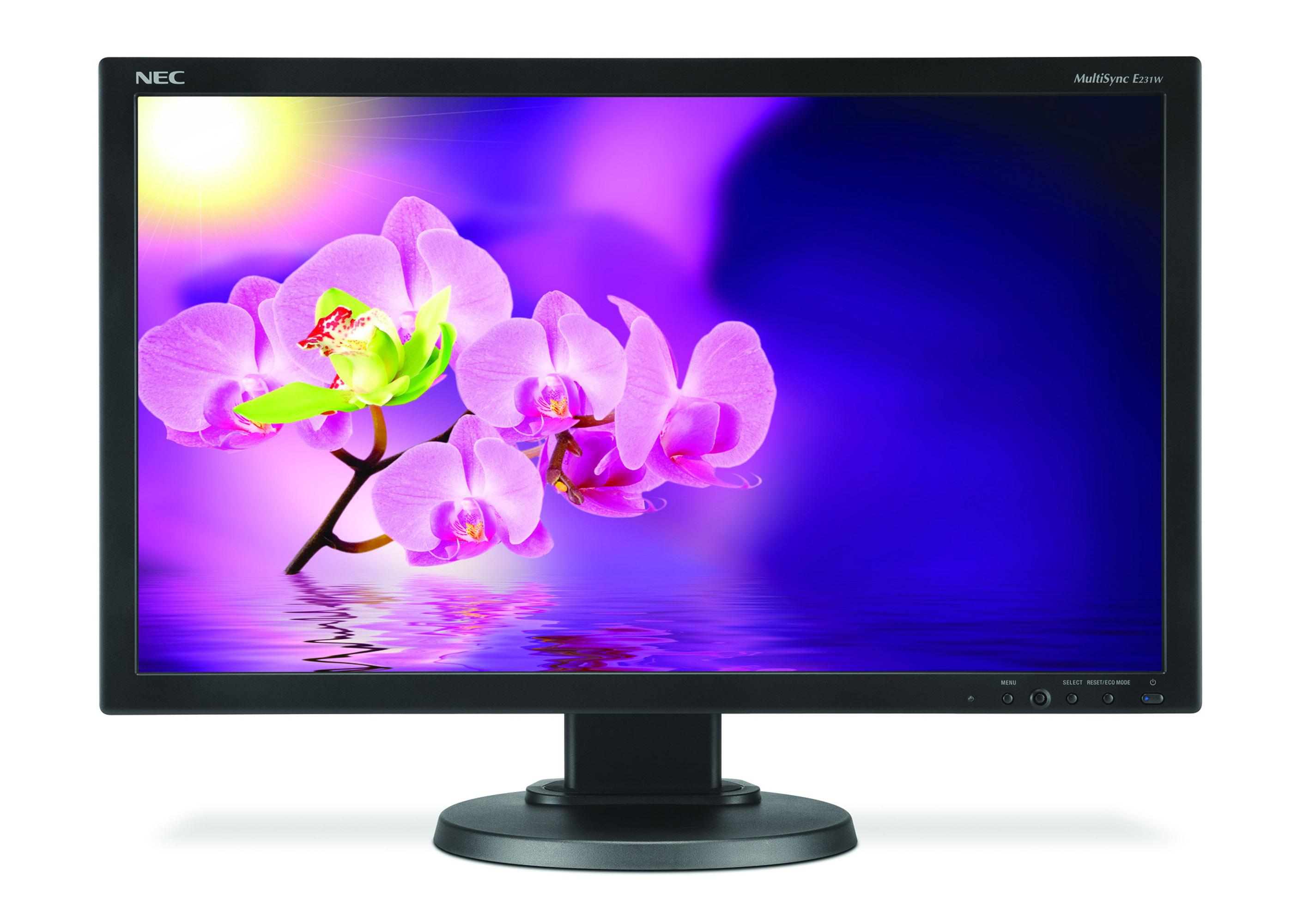 NEC outs MultiSync E231W LED-backlit Monitor