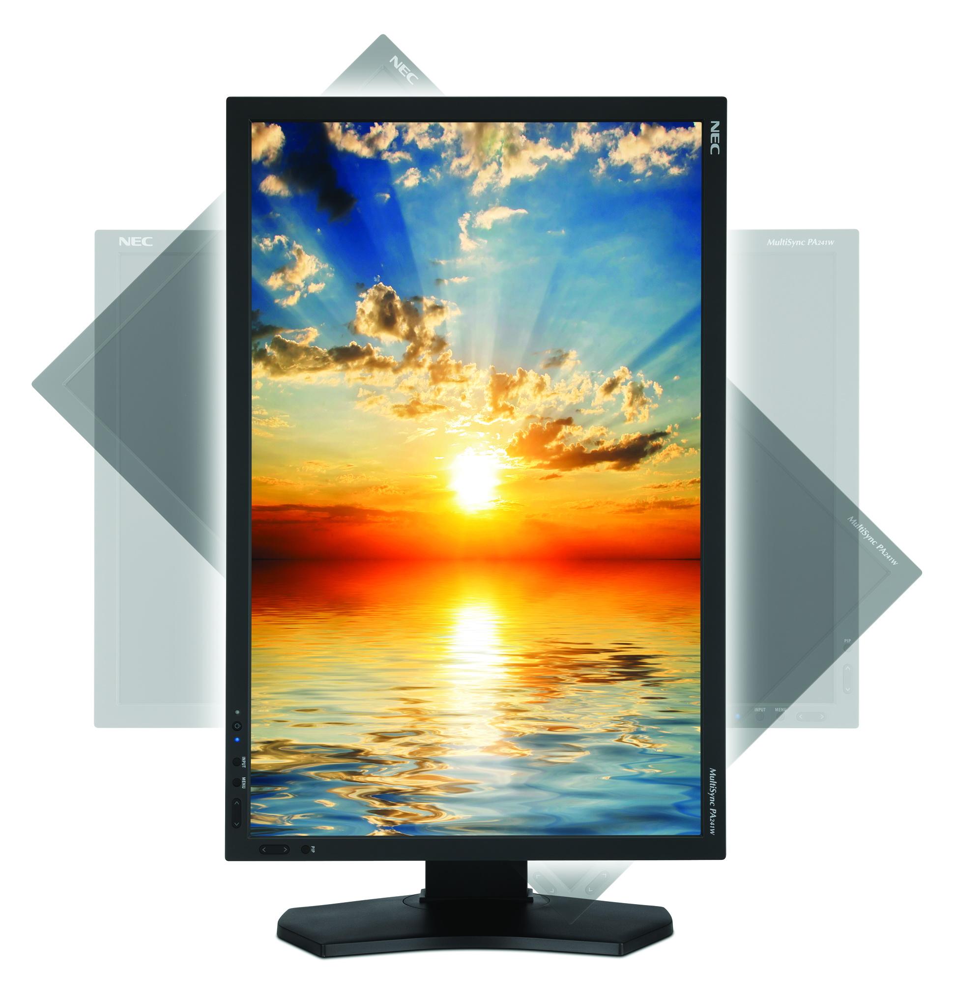 NEC intros professional MultiSync PA241W IPS LCD Monitor