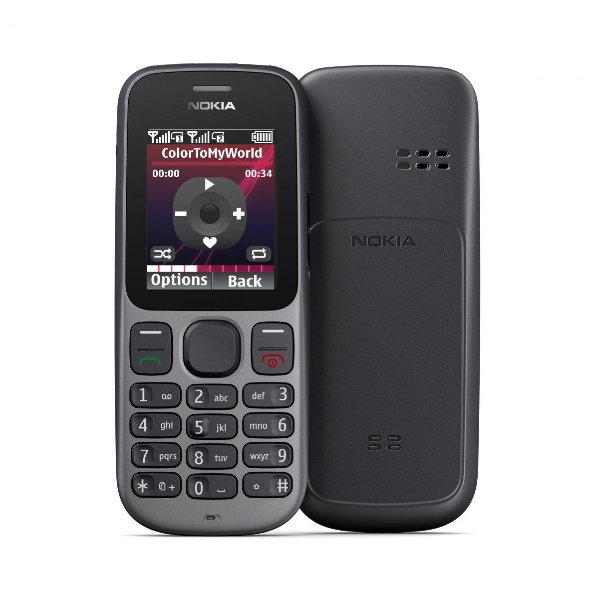 nokia 100 101 single dual sim cheap phones. Black Bedroom Furniture Sets. Home Design Ideas