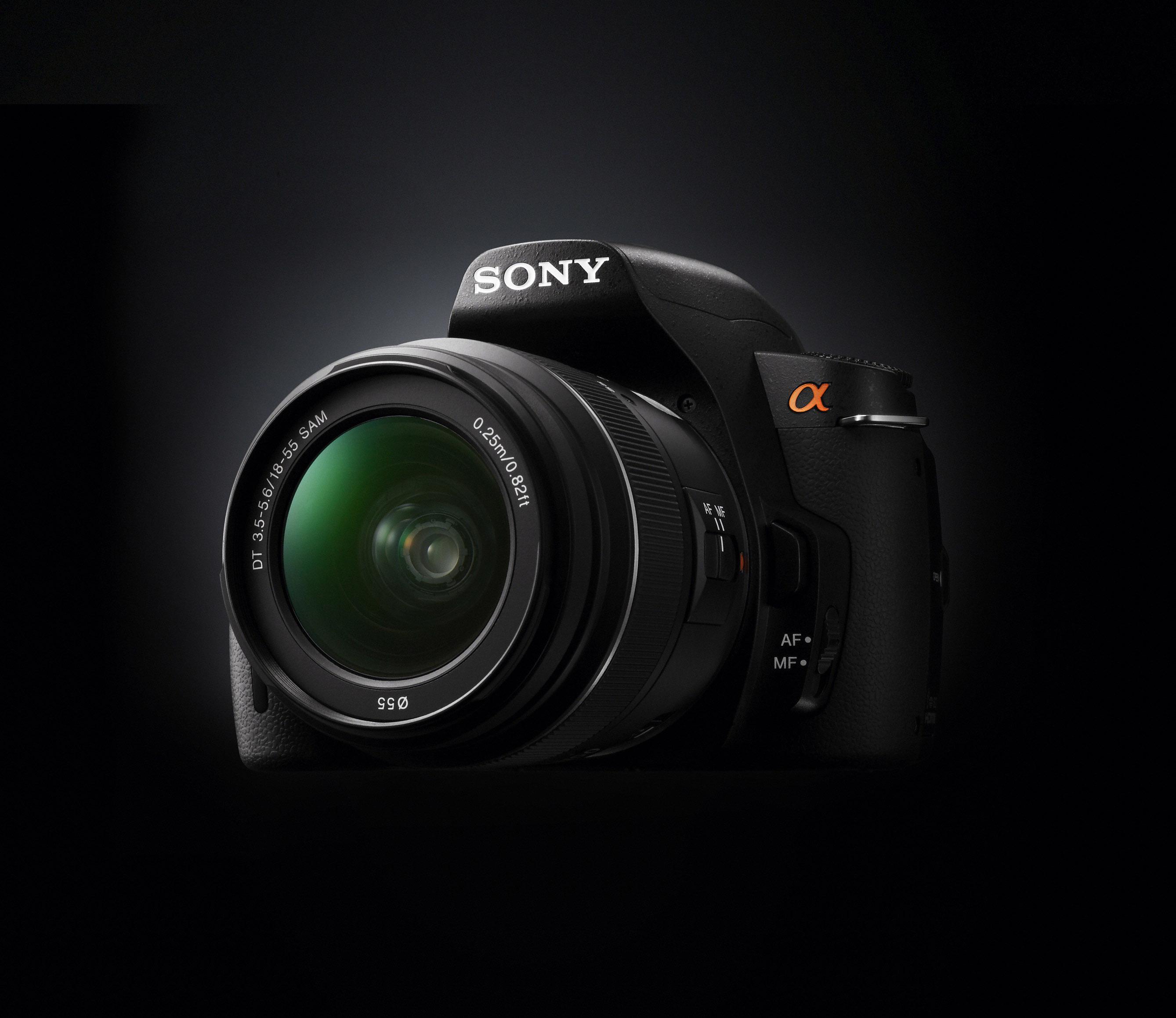 sony alpha a290 and a390 14 2 megapixels digital slr cameras offical. Black Bedroom Furniture Sets. Home Design Ideas