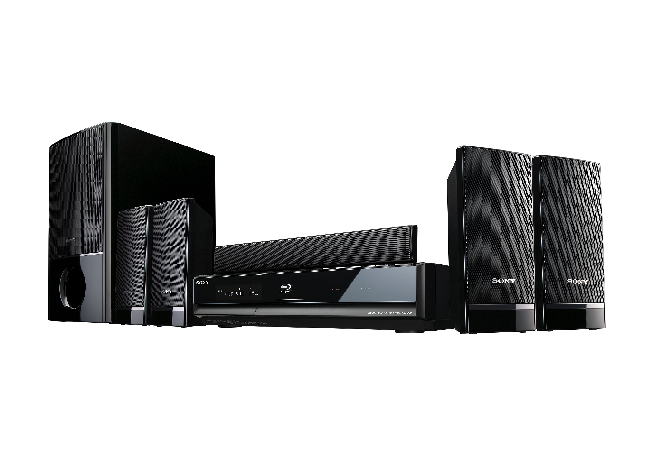 Sony Intros Wide Range Of Blu Ray Home Cinema Systems