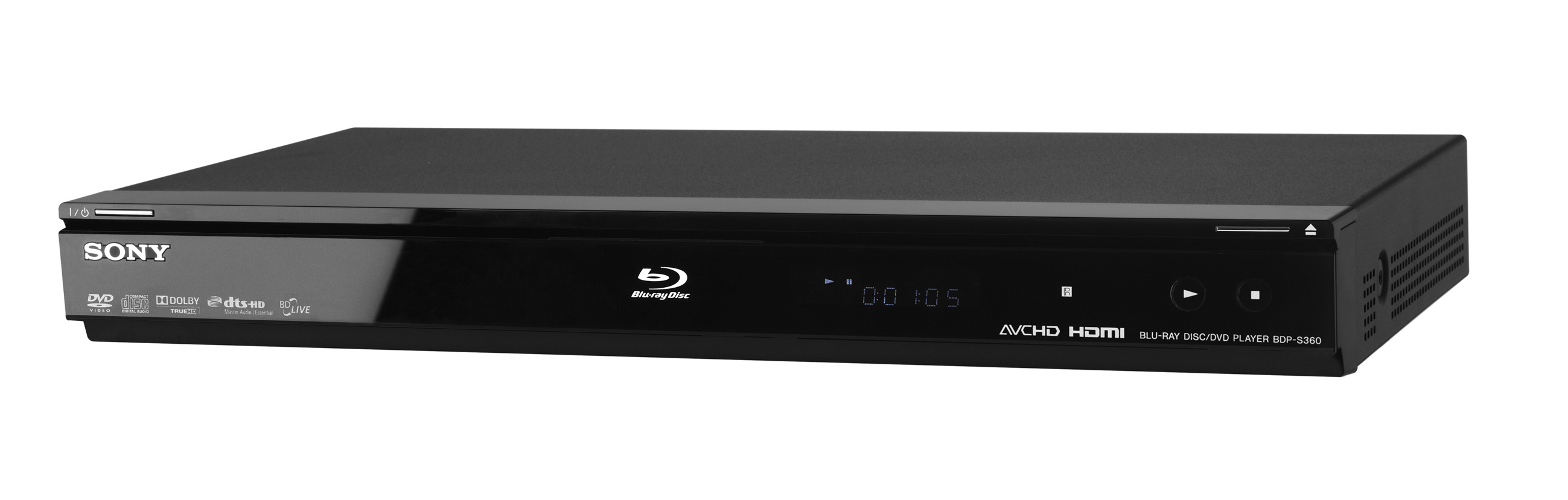 sony unveils new blu ray player bdp s360. Black Bedroom Furniture Sets. Home Design Ideas