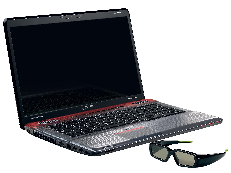 Toshiba's new gaming flagship laptops Qosmio X770/X770 3D