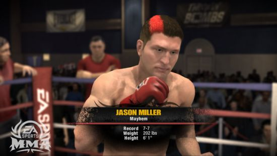 EA Sports MMA screenshot Picture #3