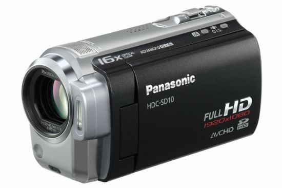 Panasonic HDC-SD10 Picture #3