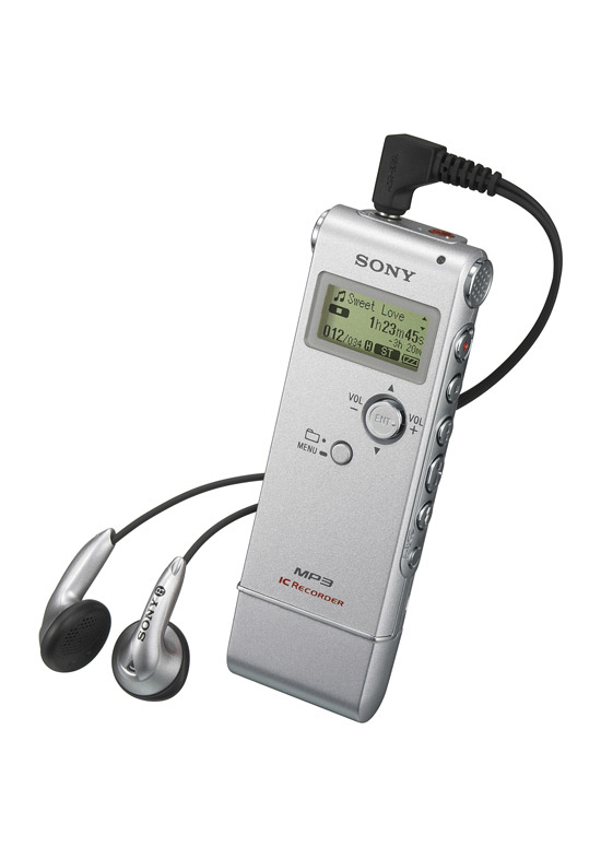 Sony launches the perfect digital dictation device