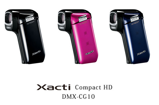 sanyo-xacti-compact cameras