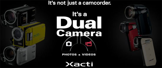 sanyo xacti camera