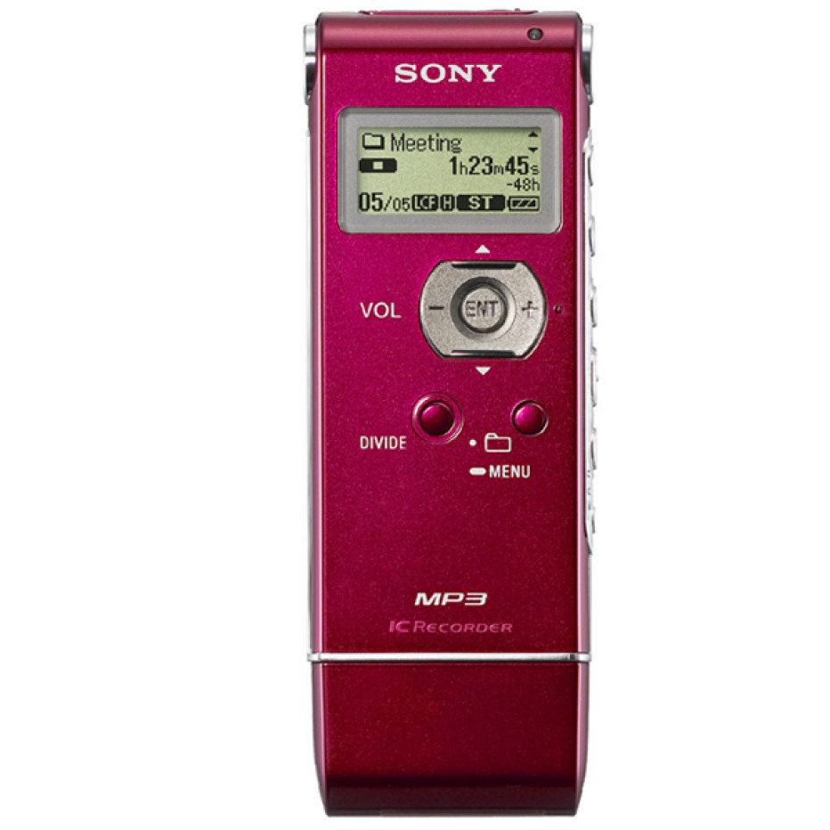 Ultra-Compact, Versatile and Stylish – New Multi-Function Voice, Music and Data Recorders From Sony