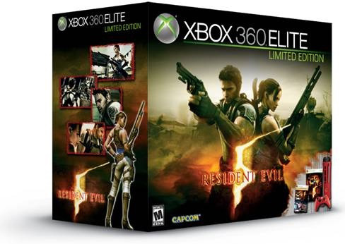 Exclusive Red Xbox 360 Resident Evil Limited Edition Console