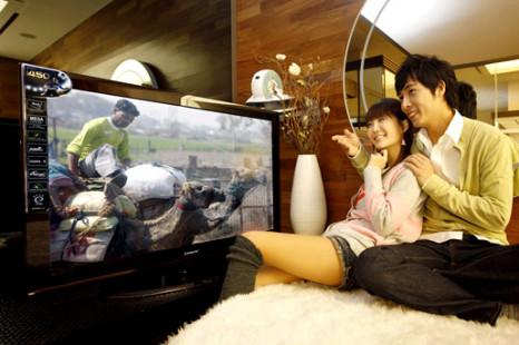 Samsung introduced Fabrizio PAVV 450 series plasma HDTVs in Korea