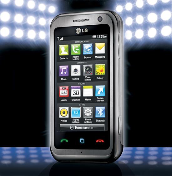 LG ARENA (LG-KM900)