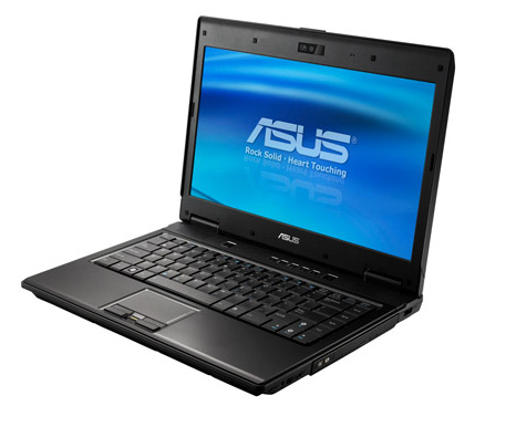 asus p series notebook