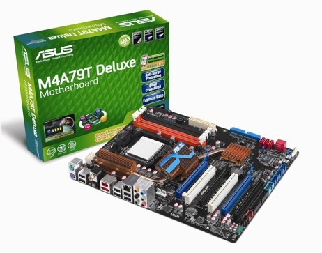 ASUS M4A79T Deluxe Motherboard