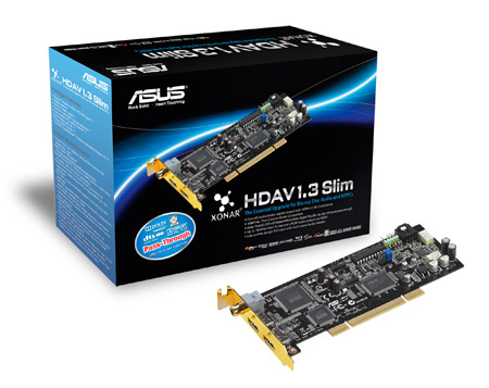 Asus Xonar HDAV1.3 Slim Sound Card