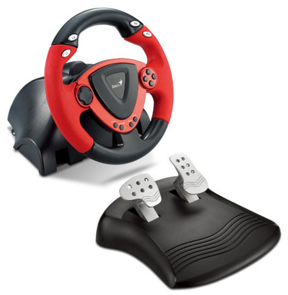 Driver for Genius TwinWheel Racing Wheel
