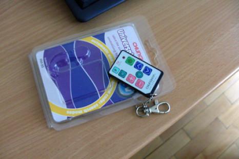 Useful keychain – Universal TV Remote