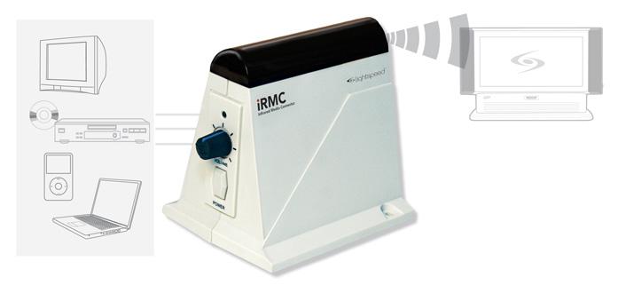 Lightspeed iR Media conector