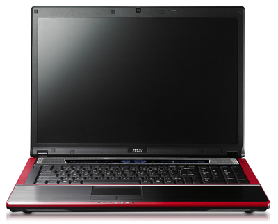 MSI GT729 notebook