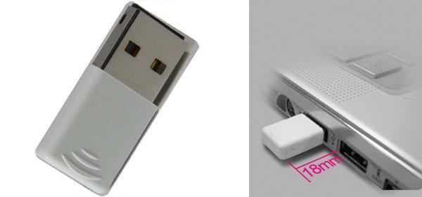 Mvix NUbbin Wireless-N-USB adapter