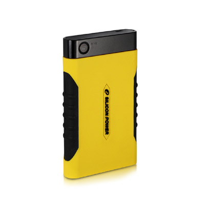 SILICON POWER Armor A10 Ultra Rugged Portable Drive